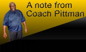 A note from Coach Pittman